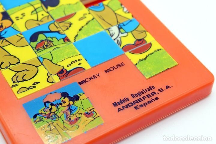 Puzzles: Pequeño puzzle Mickey Mouse. ANDREFER SA, Made in Spain. Original, años 70. Pequeño, mide 9 x 7,2 cm - Foto 6 - 168273636