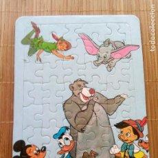Puzzles: PUZZLE PERSONAJES DISNEY, AÑOS 80, . Lote 168417744