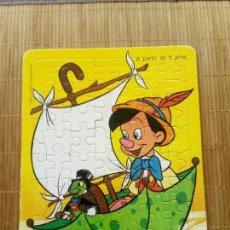 Puzzles: PUZZLE PINOCHO EN PARAGUAS-BARCO, 1983. Lote 168417824