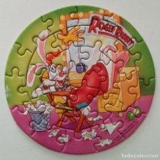 Puzzles: PUZZLE PROMOCIONAL DE LA LECHERA. QUIEN ENGAÑO A ROGER RABBIT. SIN ESTRENAR. Lote 168426712