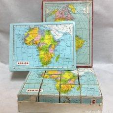 Puzzles: ROMPECABEZAS MAPAMUNDI, AÑOS 70. Lote 169444504