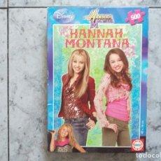 Puzzles: HANNAH MONTANA PUZZLE. EDUCA. 500 PIEZAS.. Lote 170420716