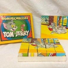 Puzzles: ROMPECABEZAS TOM Y JERRY DE BORRAS. AÑOS 60.. Lote 170863175