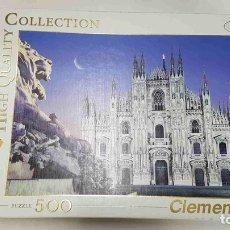 Puzzles: PUZZLE, CLEMENTONI: 500 PIEZAS - HIGH QUALITY COLLECCTION. TRAVEL. MARIAE NASCENTI (DUOMO - MILA.... Lote 170948002