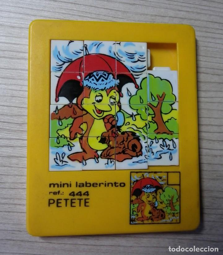 PUZZLE PETETE - MINILABERINTO (Juguetes - Juegos - Puzles)