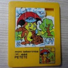 Puzzles: PUZZLE PETETE - MINILABERINTO. Lote 171205304