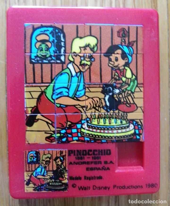 PUZZLE PINOCHO - ANDREFER (Juguetes - Juegos - Puzles)