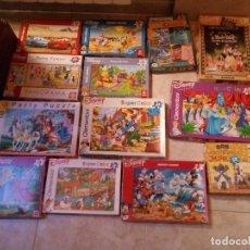 Puzzles: 13 PUZZLES (CASI TODOS DISNEY). Lote 172251598