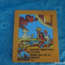 Puzzles: PUZZLE LABERINTO ERASE UNA VEZ EL ESPACIO. Lote 172427357