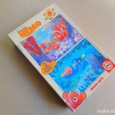Puzzles: PUZZLE INFANTIL 2 X 16 PIEZAS MADERA BUSCANDO A NEMO FINDING NEMO EDUCA, COMPLETO. Lote 173276237