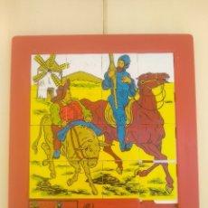 Puzzles: EL QUIJOTE - ANTIGUO PUZZLE ANDREFER S.A - INTER MUNDUS HOLANDA - DON QUIJOTE DE LA MANCHA - RAREZA. Lote 173644279