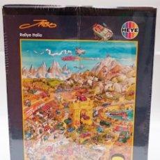Puzzles: HEYE REF 29032 SERIE JABO RALLY ITALIA - RARO Y DIFICIL DE ENCONTRAR. Lote 173999764