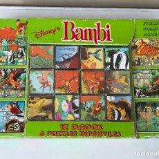 Puzzles: BAMBI ROMPECABEZAS CUBOS PUZZLE 12 . Lote 174415223