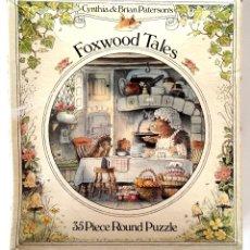 Puzzles: FOXWOOD TALES • PUZZLE INFANTIL CIRCULAR (26 CM. COLECCIONABLE CLASICO CUENTOS '80S). Lote 222919787