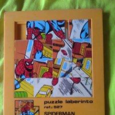 Puzzles: PUZZLE LABERINTO SPIDERMAN 527 JUEDSA. Lote 175169284
