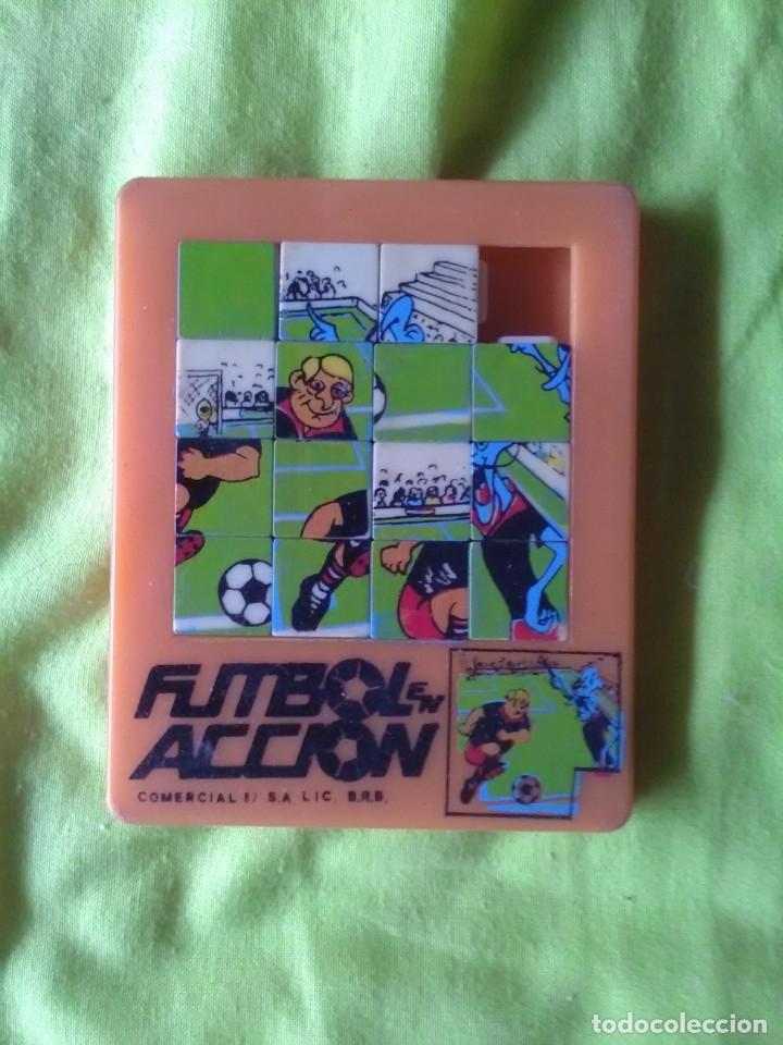 PUZZLE LABERINTO FUTBOL ACCION (Juguetes - Juegos - Puzles)