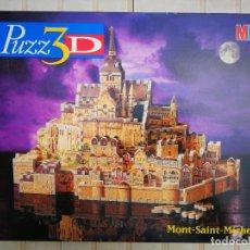 Puzzles: PUZZLE 3D MONT SAINT MICHEL. Lote 175603830