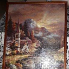 Puzzles: ESPECTACULAR PUZZLE DE PAISAJE ENMARCADO DESDE 5 EUROS VER FOTOS DESCRIPCION. Lote 175689615