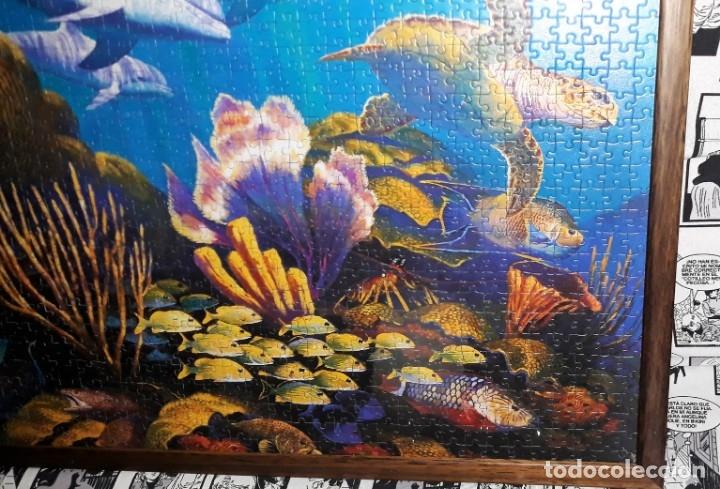 Puzzles: ESPECTACULAR PUZZLE DE PAISAJE MARINO ENMARCADO DESDE 5 EUROS VER FOTOS DESCRIPCION - Foto 2 - 175689822