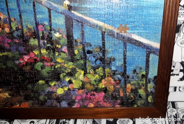 Puzzles: ESPECTACULAR PUZZLE DE PAISAJE ENMARCADO DESDE 5 EUROS VER FOTOS DESCRIPCION - Foto 2 - 175690279