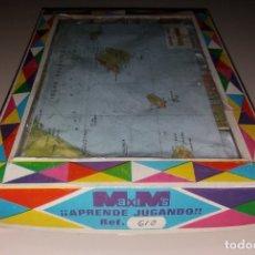 Puzzles: JUGUETE ROMPECABEZAS. MAXIM'S MAPAS DE ESPAÑA, 24 CUBOS DE PLÁSTICO, COMPLETO. Lote 176033114