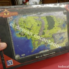 Puzzles: PUZZLE 1500 PIEZAS DEL HOBBIT. AÑOS 90. ICE. SIN ABRIR. CELOFÁN ORIGINAL. MAP OF MIDDLE-EARTH. Lote 176104048