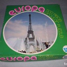 Puzzles: PUZZLE EURORA 500 PIEZAS DE WHITMAN. Lote 176323943