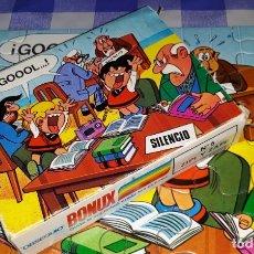 Puzzles: ANTIGUO PUZZLE ZIPI ZAPE OBSEQUIO DETERGENTE BONUX COMPLETO AÑOS 70 BRUGUERA VER FOTOS Y DESCRIPCION. Lote 176575243