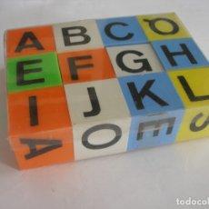 Puzzles: ABECEDARIO CUBOS AÑOS 60 - 70 SIN USO. Lote 177370773