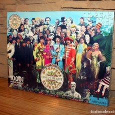 Puzzles: THE BEATLES: SARGEANT PEPPERS - PUZZLE DE 1000 PIEZAS - NUEVO Y PRECINTADO. Lote 177438947