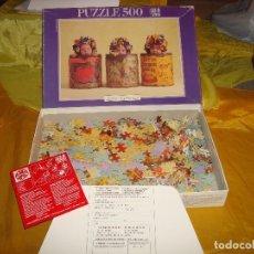 Puzzles: PUZZLE EDUCA DE 500 PIEZAS DE ANNE GEDDES. 48 X 34.. Lote 177602928
