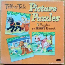 Puzzles: TRES PUZZLE FRAME WHITMAN. Lote 177695877