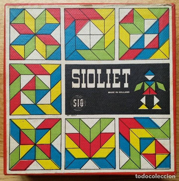 TANGRAM PIEZAS MADERA DE COLORES SIOLIET (Juguetes - Juegos - Puzles)