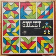 Puzzles: TANGRAM PIEZAS MADERA DE COLORES SIOLIET. Lote 177696027