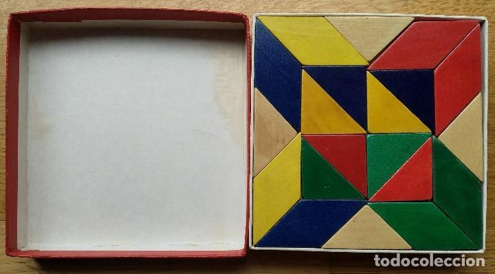 Puzzles: TANGRAM PIEZAS MADERA DE COLORES SIOLIET - Foto 2 - 177696027