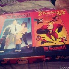 Puzzles: 2 PUZZLES LOS INCREÍBLES. Lote 177723915