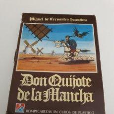 Puzzles: PUZZLE DON QUIJOTE DE LA MANCHA 1978 ORIGINAL DE CRUZ DELGADO -JOSE ROMAGOSA. Lote 178029470