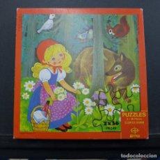 Puzzles: PUZZLES DE 2 X 36 PIEZAS CUENTOS GRIMM DE EDAF COMPLETO. Lote 179253867