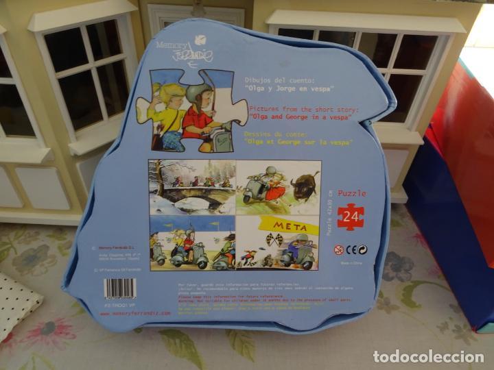 Puzzles: JUAN FERRANDIZ - PUZZLE 24 PIEZAS - OLGA Y JORGE EN VESPA - Foto 4 - 179517032