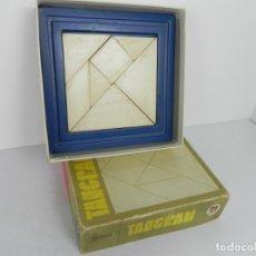 Puzzles: TANGRAM (DISET INTERNACIONAL) CON PIEZAS DE MADERA - NO INCLUYE EJEMPLOS. Lote 180158410