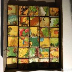 Puzzles: ROMPECABEZAS DE CUBOS DE CARTÓN, AÑO 40. Lote 181139888