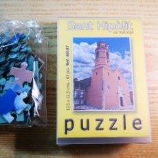 Puzzles: PUZZLE SANT HIPÒLIT DE VOLTREGÀ ESGLÉSIA A ESTRENAR. Lote 181559103
