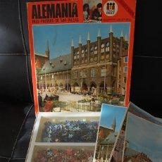 Puzzles: PUZZLE ALEMANIA. DISET. 3 PUZZLES DE 504 PIEZAS. SERIE ORO.. Lote 182062968