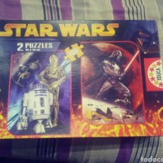 Puzzles: 2 PUZZLES STAR WARS. Lote 182245431