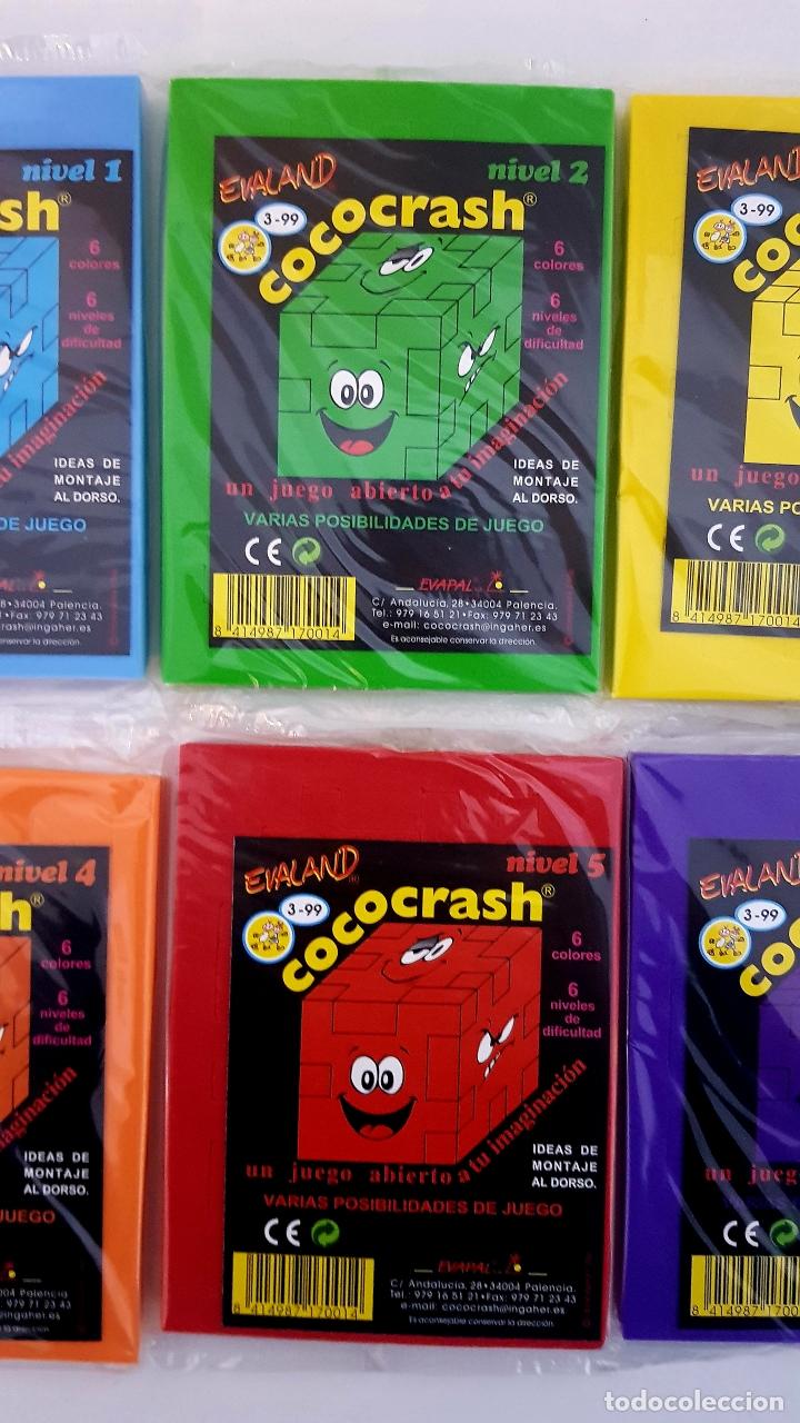 Puzzles: LOTE 6 COCO-CRASH COLECCION COMPLETA NUEVOS SIN ABRIR EVALAND COCOCRASH - Foto 3 - 182288958