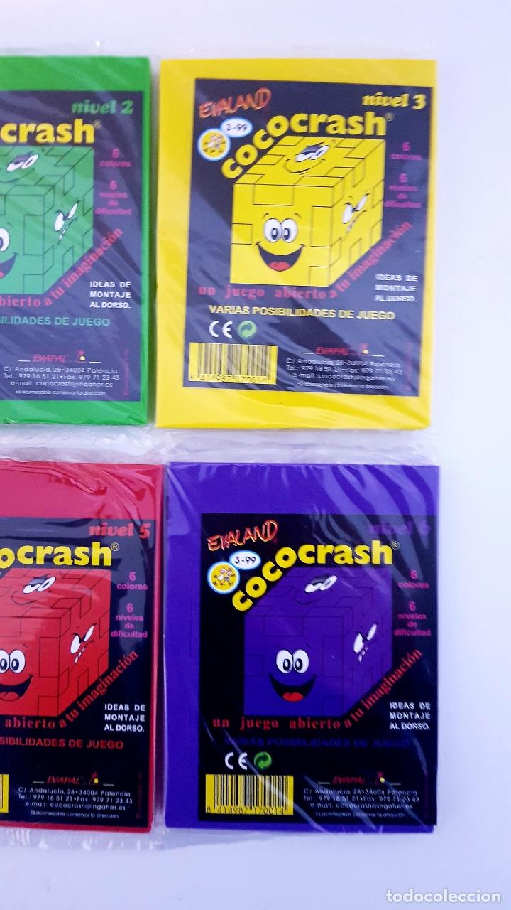 Puzzles: LOTE 6 COCO-CRASH COLECCION COMPLETA NUEVOS SIN ABRIR EVALAND COCOCRASH - Foto 4 - 182288958