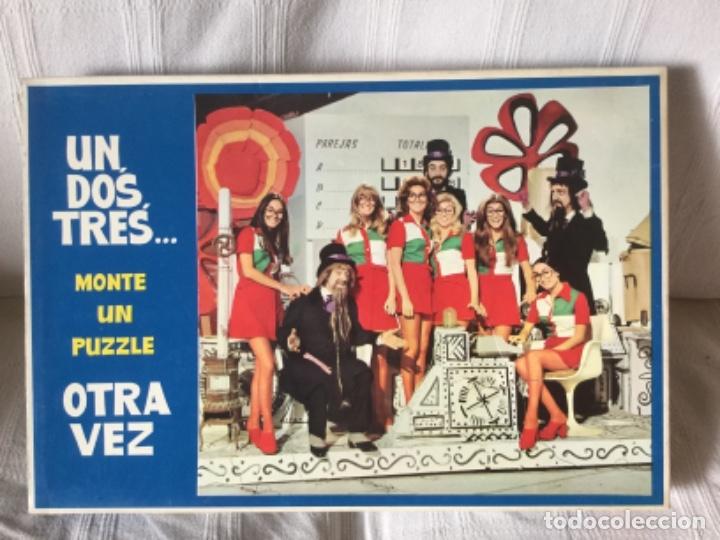 Puzzles: Juego Educativo 2 Puzzles de Un, Dos, Tres... Responda Otra Vez. Nuevo, bolsas sin abrir. Años 60-70 - Foto 2 - 182473032