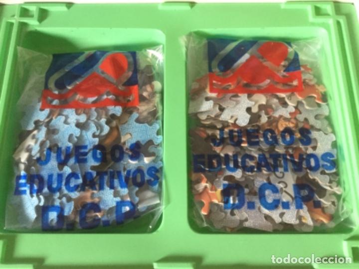 Puzzles: Juego Educativo 2 Puzzles de Un, Dos, Tres... Responda Otra Vez. Nuevo, bolsas sin abrir. Años 60-70 - Foto 5 - 182473032