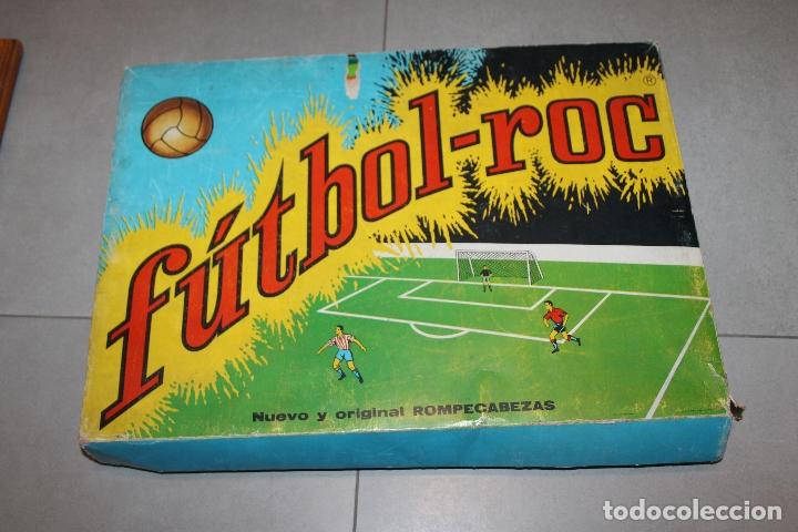 FUTBOL-ROC ROMPECABEZAS EQUIPOS DE FUTBOL. AÑOS 60 (Juguetes - Juegos - Puzles)