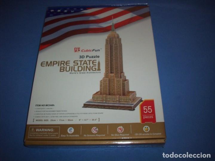 PUZZLE 3D EMPIRE STATE BUILDING 55 PIEZAS (Juguetes - Juegos - Puzles)